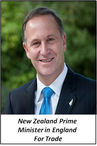 New Zealand PM Sir John Key
