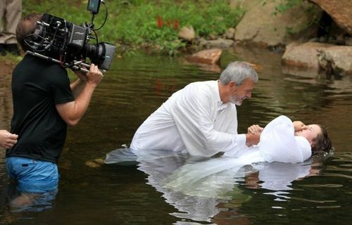 """""""He who believes and is baptized shall be saved"""""""