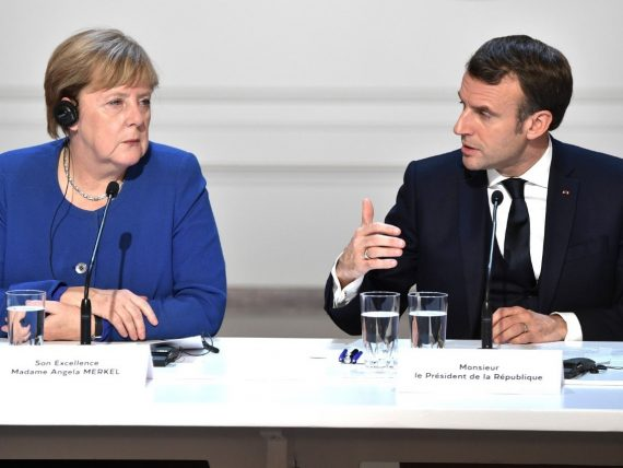 Germany and France voice Nato Crack