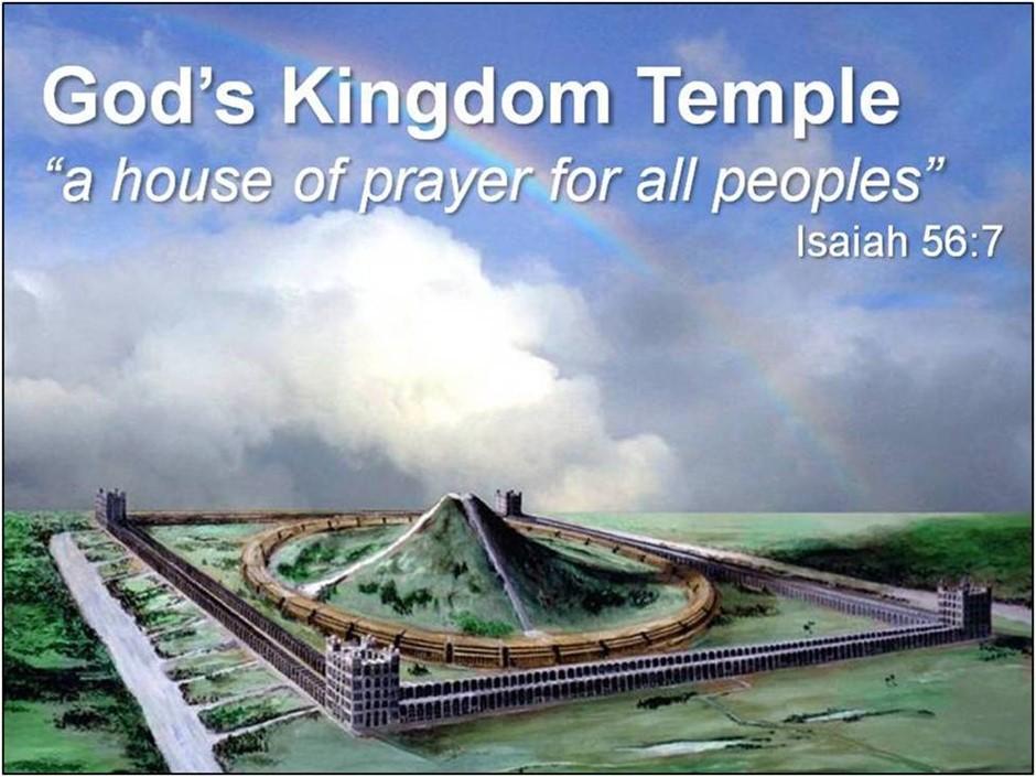 God's Kingdom Temple on Earth