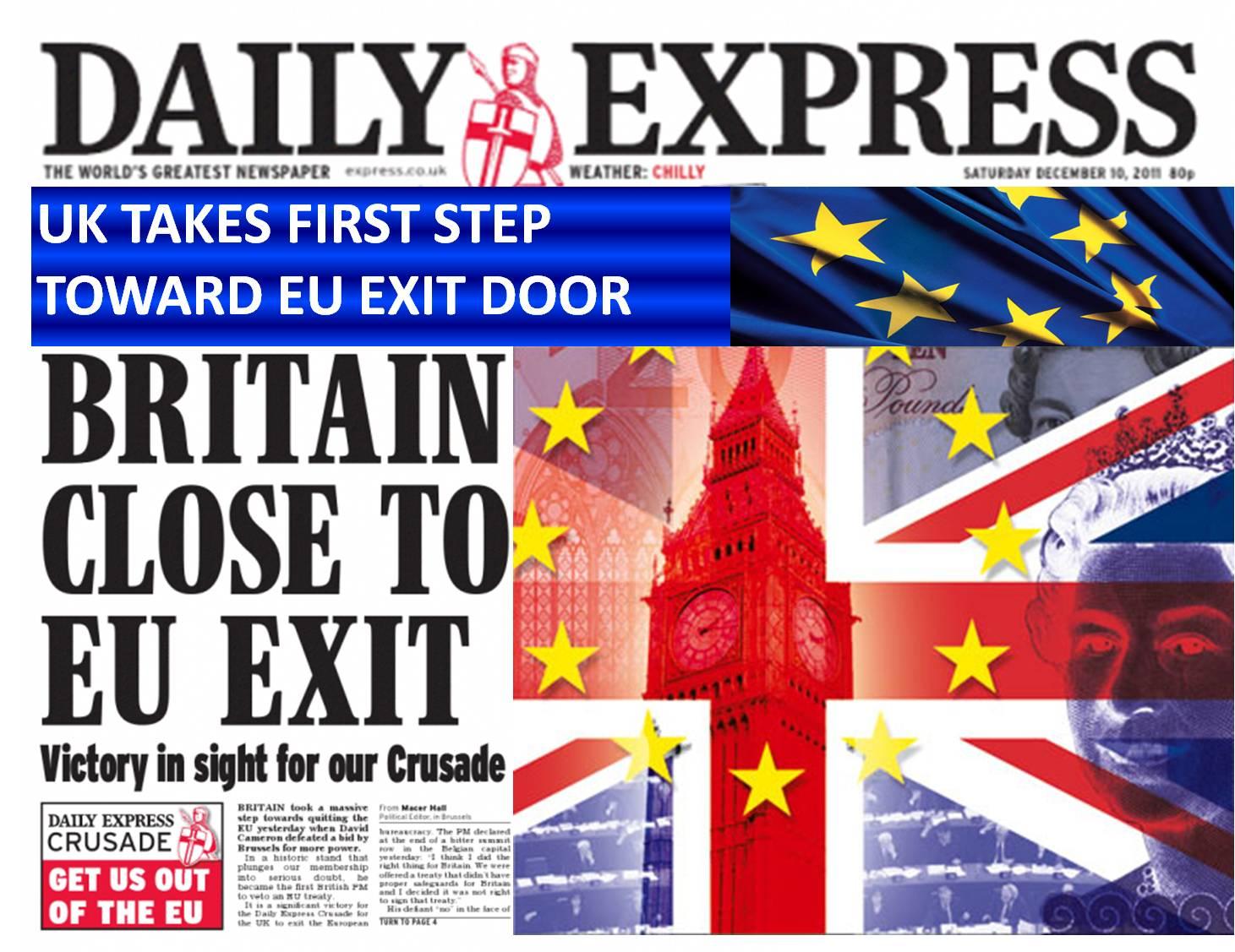 Despite all political commentators saying it wouldn't happen, BREXIT has happened