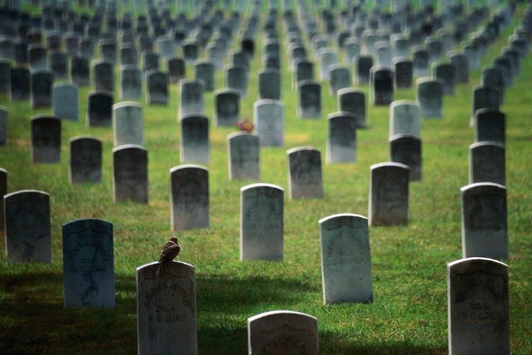Death ends in a grave
